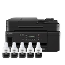 【搭GI70原廠墨水5黑】Canon PIXMA GM4070 商用黑白連供複合機