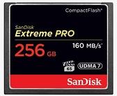 Sandisk Extreme PRO CF 256Gb 160mb/s 1067X UDMA7 記憶卡 256G【公司貨】