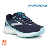 【BROOKS】女款避震型慢跑鞋 GHOST 11 -深藍(771D493)-【全方位運動戶外館】