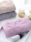 3條裝 紗布純棉毛巾洗臉家用成人男女全棉大面巾速干柔軟吸水伊莎公主