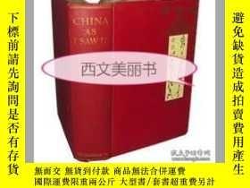 二手書博民逛書店【罕見】 1910年版《中國我所見》CHINA AS I SAW