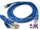 【DE344E】5米CAT-5 網路線5M 網路線 RJ45 250MB高速寬頻用CAT5 網路 EZGO商城