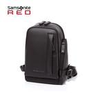 Samsonite RED 新秀麗【TAEO HF0】斜肩包 胸包 大開口取物方便 質感細緻 快取口袋