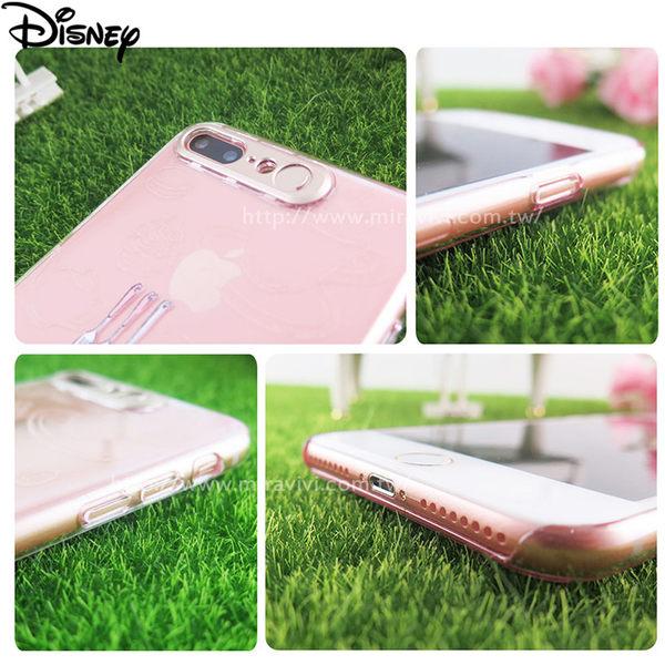 Disney迪士尼iPhone 7 Plus(5.5吋)雷雕閃光彩繪保護殼
