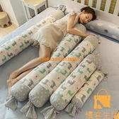 純棉糖果圓柱枕頭側睡夾腿抱枕長條枕女生可拆洗冰絲夏季【慢客生活】
