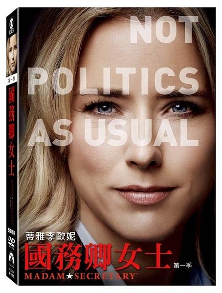 國務卿女士 第1季 DVD Madam Secretary Season 1 免運 (購潮8)
