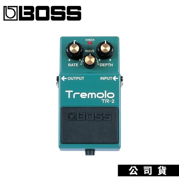 【南紡購物中心】效果器 BOSS TR-2 Tremolo 顫音 電吉他 公司貨