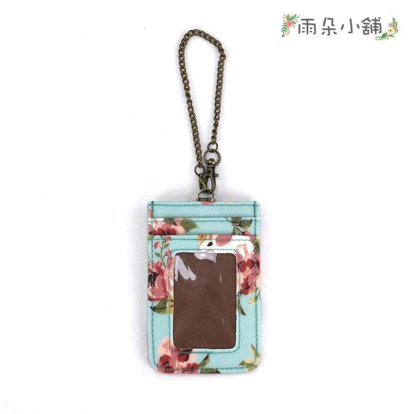 證件套 包包 防水包 雨朵小舖 U017-623 直立式證件套-藍玫瑰馬之戀06078 uma hana