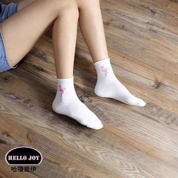 【正韓直送】三麗鷗短襪 韓國襪子 船襪 韓襪 女襪 直板襪 布丁狗 韓妞必備 哈囉喬伊 H10