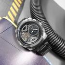 FOSSIL / ME1171 / 復古潮流 機械錶 自動上鍊 鏤空錶盤 不鏽鋼手錶 鍍灰 50mm
