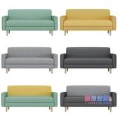 雙人沙發 沙發小戶型北歐臥室租房服裝店小沙發椅款現代簡約單雙人沙發JY【快速出貨】