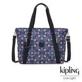 Kipling 熱帶萬花筒印花兩用托特包-SKYLER