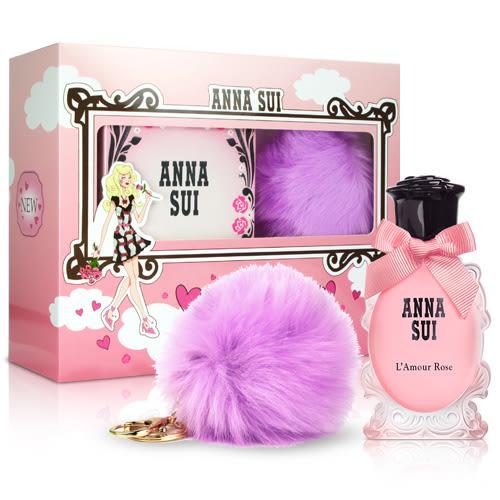 岡山戀香水~ANNA SUI 安娜蘇 愛在巴黎時尚紫禮盒~優惠價:890元