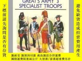 二手書博民逛書店Frederick罕見the Great's Army 3 Specialist Troops MAA 248 (