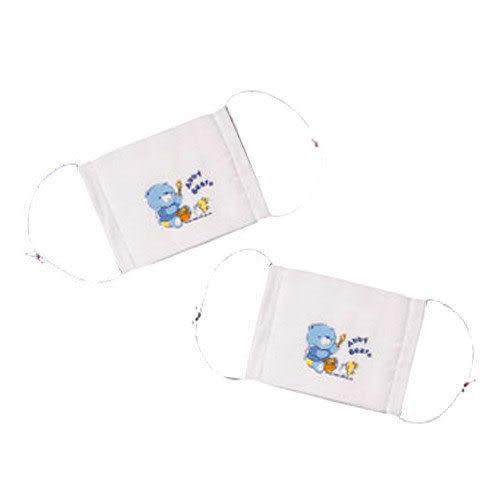 【奇買親子購物網】艾比熊紗布兒童口罩