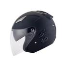 【東門城】KYT DJ 素色(消光黑) 半罩式安全帽 雙鏡片