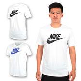 NIKE 男針織圓領短袖T恤 (慢跑 跑步  短T 免運 ≡排汗專家≡