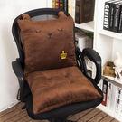 加厚椅子坐墊靠墊一體辦公室座墊靠背餐椅墊...