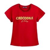 『小鱷魚童裝』燙珠上衣(08號~20號)555455