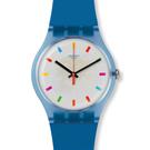 Swatch  彩色生活半透明石英腕錶   SUON125