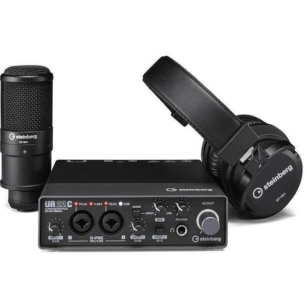 唐尼樂器︵分期免運 YAMAHA Steinberg UR22C Recording Pack 錄音套裝組合