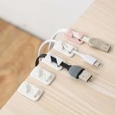 自貼電線固定器(12入) 家用 三角 電線理線器 桌面 電線整理 卡扣理線器 線夾 【N413】MY COLOR