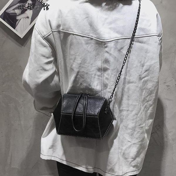 港風復古百搭韓版手提包單肩斜挎包