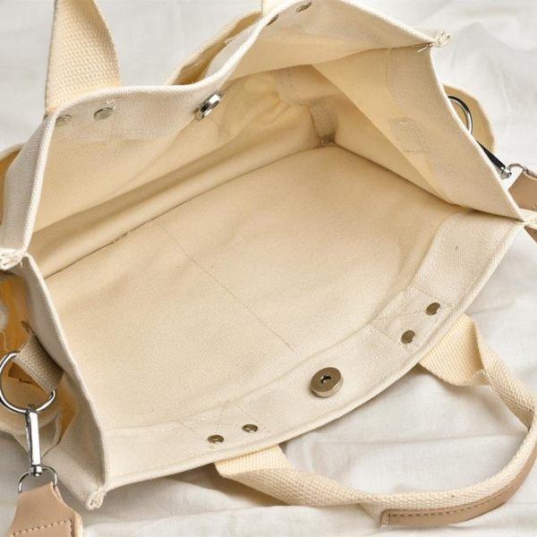 商務包帆布商務手提檔包女簡約A4公事包時尚百搭學生書包OL側背辦公包  愛麗絲精品