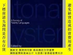 二手書博民逛書店Intonation罕見Systems: A Survey of
