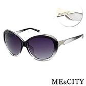 【南紡購物中心】【SUNS】ME&CITY 歐美偏光簡約太陽眼鏡 永恆的印記 抗UV400(ME22000 C01)