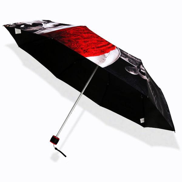 【Disney x Pirates】鬼盜船系列_抗UV傘-黑膠遮光傘/晴雨傘-洋傘防曬傘三折傘折疊傘折傘