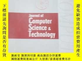 二手書博民逛書店Journal罕見of Computer Science Tec