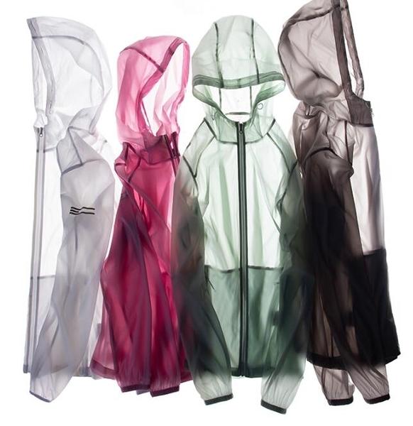 【快出】防曬衣防紫外線輕薄風衣戶外皮膚衣女