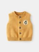 嬰兒馬甲秋冬女0新生兒衣服春秋針織開衫1歲寶寶馬夾背心純棉毛衣