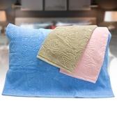 芋葉緹花枕巾1入(50*72cm)【愛買】