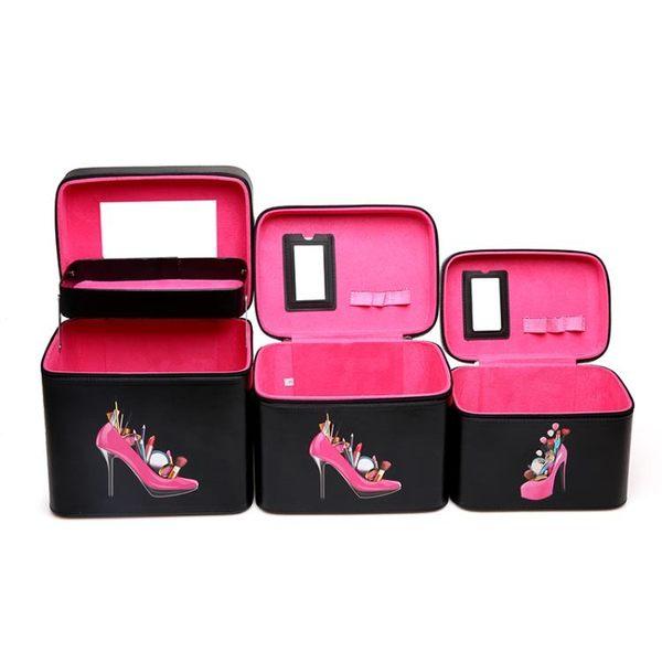 化妝包大容量多功能可愛便攜旅行大號護膚品手提化妝箱多層化妝盒【博雅生活館】