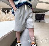 男童針織短褲夏季兒童中大童純棉運動褲潮薄款褲子寬鬆2021年外穿 蘇菲小店