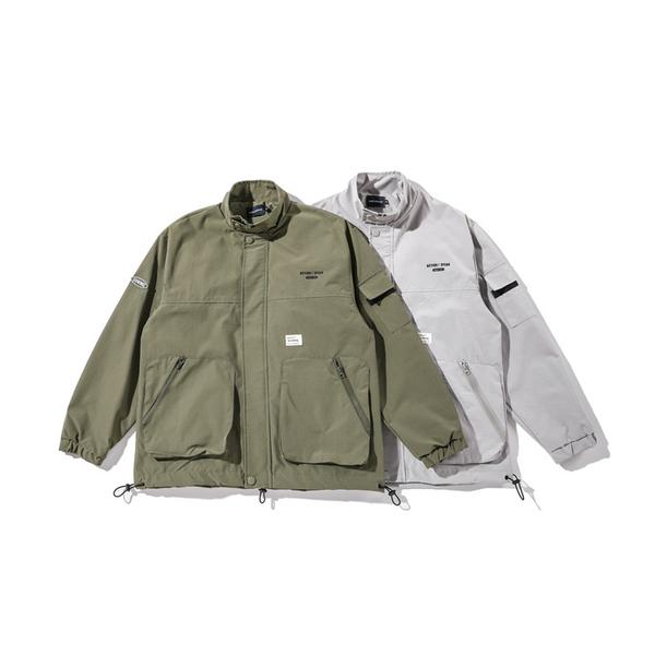 工裝外套 日系多口袋立領防風衝鋒外套 夾克 現貨+預購 【TJJ210】