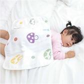 蘑菇6層紗布嬰兒小被毯 可當枕巾 y7012