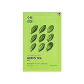 holika EWG配分天然萃取面膜  #綠茶-舒緩 20ML*10片