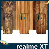 realme XT 仿木紋保護套 軟殼 大理石紋 天然復古風 簡約全包款 手機套 手機殼