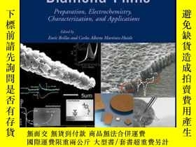 二手書博民逛書店Synthetic罕見Diamond Films: Preparation, Electrochemistry,