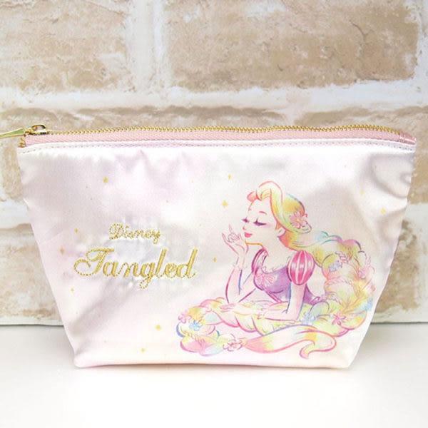 【震撼精品百貨】魔髮奇緣樂佩公主 Rapunzel~幻想微光系列緞面化妝包(長髮公主樂佩)