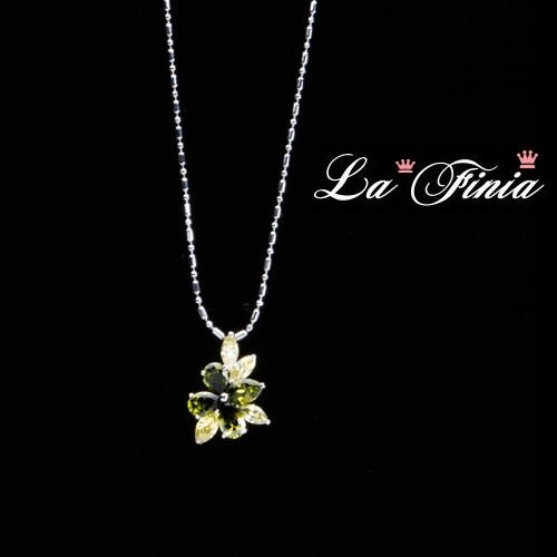 【La Finia】花火水晶項鍊