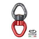 鉤環連接器2D795 Climbing Technology /城市綠洲(藍紅色、攀岩鉤環、義大利製造、鋁合金)