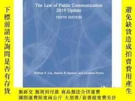 二手書博民逛書店Law罕見of Public Communication 201