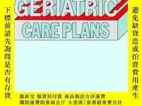 二手書博民逛書店Geriatric罕見Care Plans-老年護理計劃Y361738 Diane Kaschak New..