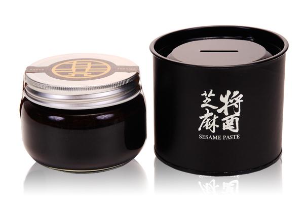 【九品元】特選黑芝麻醬 (300g/罐)x3罐