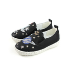 CONNIFE 休閒鞋 懶人鞋 黑色 貼鑽 童鞋 2633-02 no530