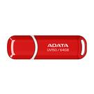 威剛 UV150/64GB USB3.2行動碟(紅色/黑色)